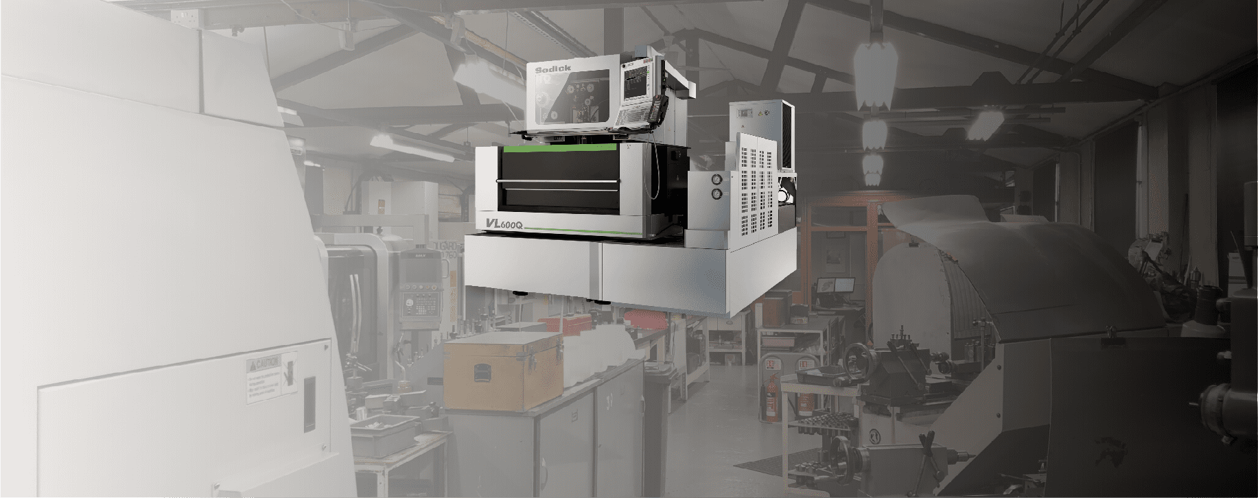 New Purchase & Capability: Sodick VL600Q Wire EDM